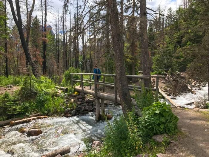 At Baring Creek