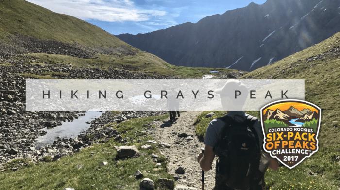 Hiking Grays Peak in the Colorado Rockies