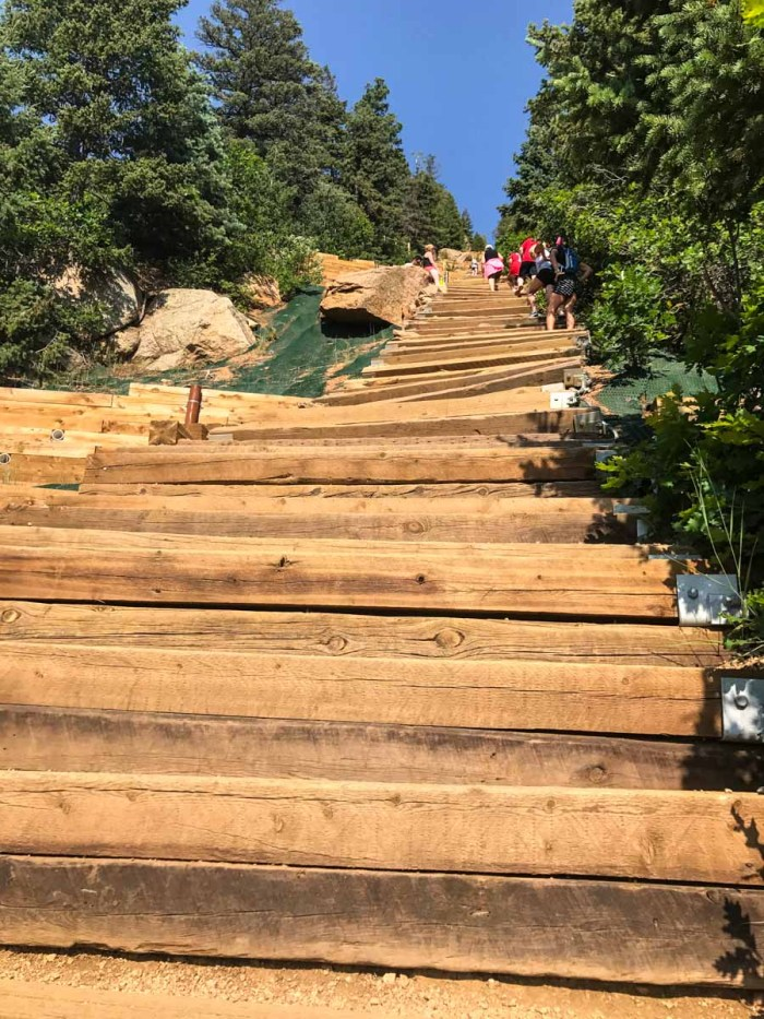Manitou Incline goes from steep to ludicrous