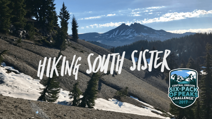 Hike to the summit of South Sister