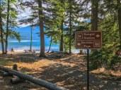 Boulder Pass Trailhead at Kintla Lake Campground