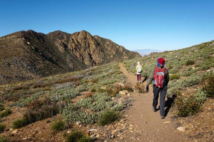 Heading to Garnet Peak