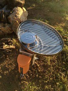 Biolite stove grill attachment