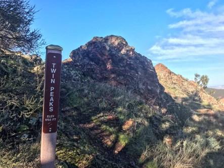 Twin Peaks marker