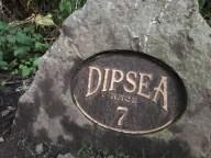 Dipsea Trail marker
