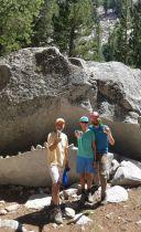 Happy Hikers at Muir Monster