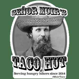 #MuirTaco sticker