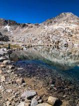 Clear, cold water below Muir Pass