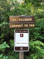 Official Mt Pilchuck trail sign