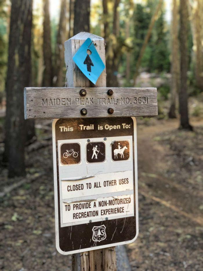 Maiden Peak Trailhead