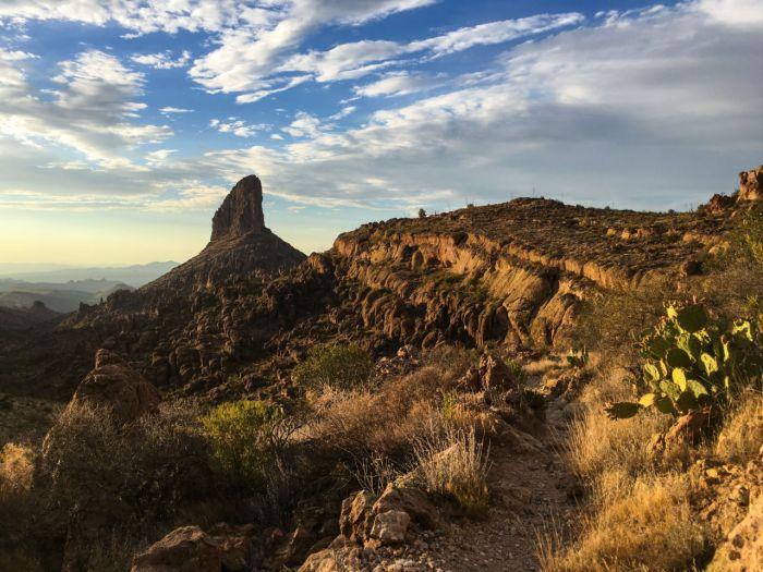 Fremont Saddle - Part of the Arizona Six-Pack of Peaks Challenge