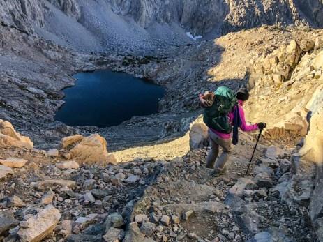 Day 6 - Descending Glen Pass