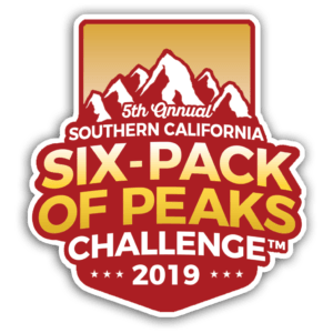 2019 Southern California Six-Pack of Peaks Challenge