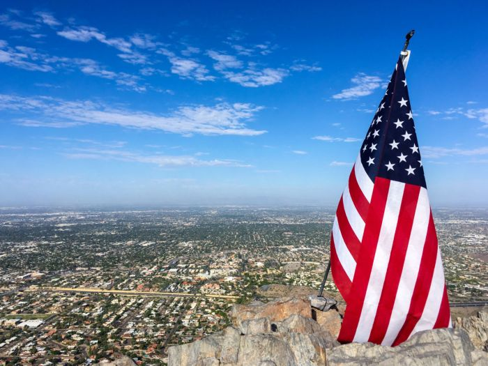 View of Phoenix from Piestewa Peak