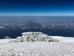 Glacial Ice on Kilimanjaro