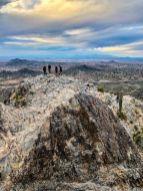 Standing on the summit of Piestewa Peak
