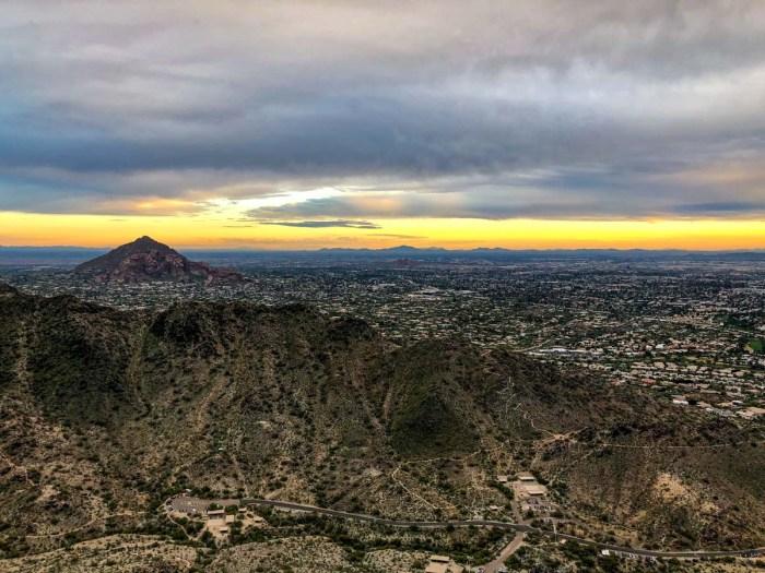 Sunset from Piestewa Peak