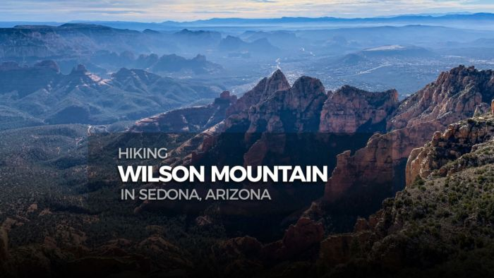 Hiking Wilson Mountain in Sedona