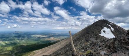 Nearing the summit of Humphreys Peak
