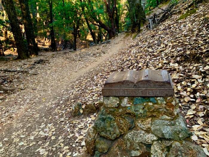 Robert Louis Stevenson marker