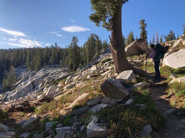 Trail Up to Buena Vista Lake