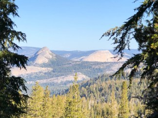 Half Dome and Starr King from Merced Pass