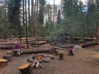 Little Yosemite Valley community fire pit