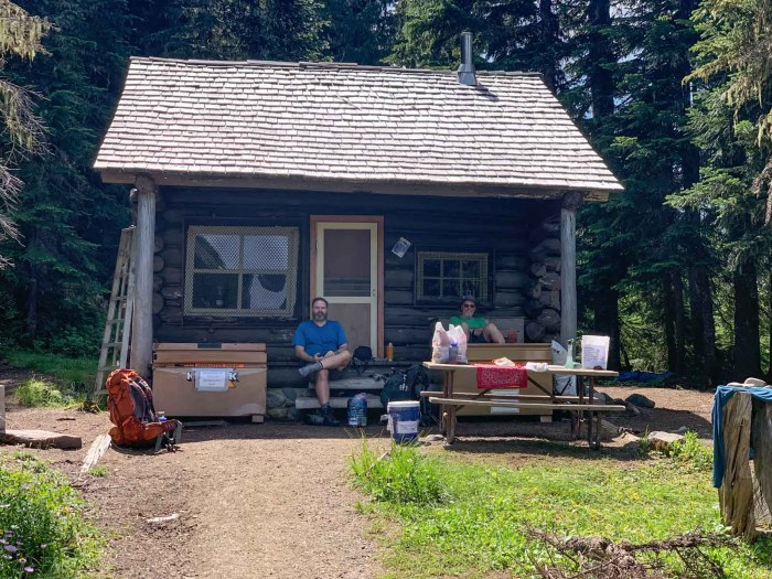 Resupply at Mowich Lake Ranger Station