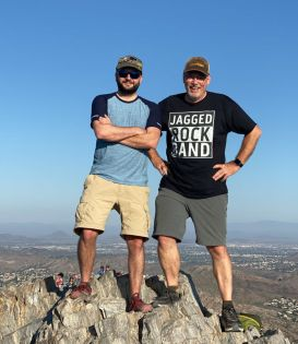 Rich & Jeff at the summit