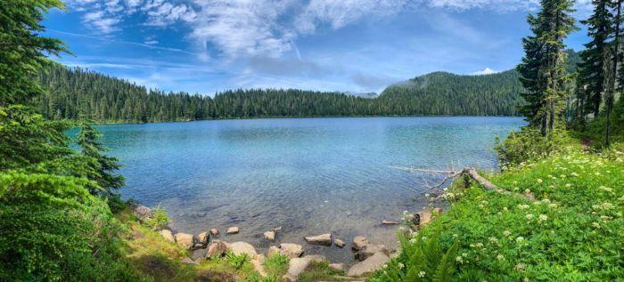 Mowich Lake Panorama