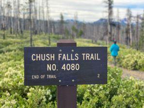 Chush Falls Trailhead No 4080