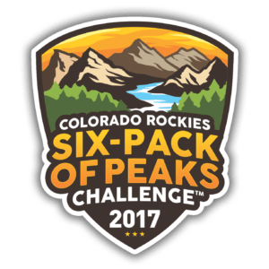 Colorado Rockies Six-Pack of Peaks Challenge