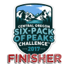 2017 Central Oregon Six-Pack Finisher