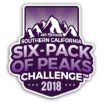 2018 SoCal Six-Pack of Peaks Challenge