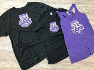 SoCal Six-Pack of Peaks t-shirts