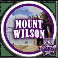 I climbed Mt Wilson