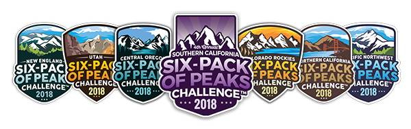 All Six-Pack of Peaks Challenges