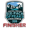 2018 Central Oregon Six-Pack Finisher