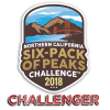 2018 NorCal Six-Pack of Peaks Challenger
