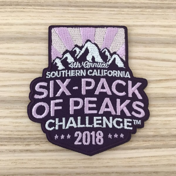 2018 SoCal Six-Pack of Peaks Patch