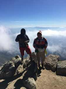 Gus and Me went to Cucamanga, His second hike with me and he did amazing, cant wait for 2019….