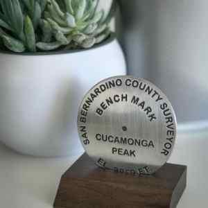 Cucamonga Peak Benchmark in Base
