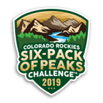 2019 Colorado Six-Pack of Peaks Challenge