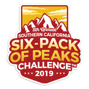 2019 SoCal Six-Pack of Peaks Challenge logo