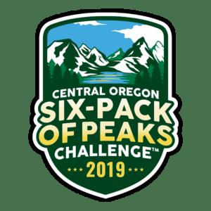 2019 Central Oregon Six-Pack of Peaks Challenge logo