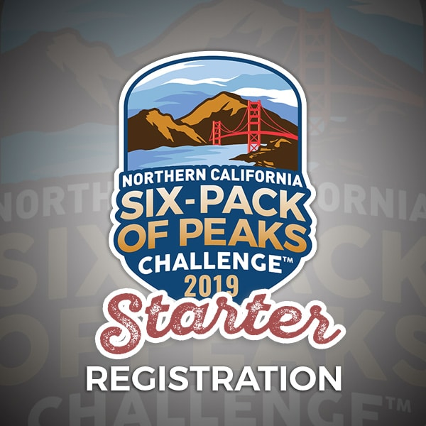2019 NorCal Six-Pack of Peaks Challenge - Starter Registration