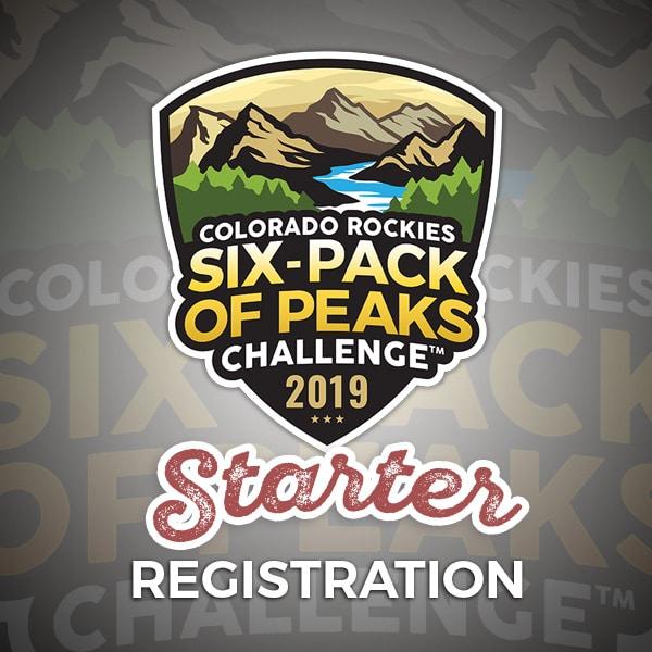 2019 Colorado Six-Pack of Peaks Challenge - Starter Registration