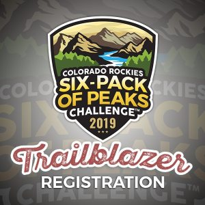 2019 Colorado Rockies Six-Pack of Peaks Challenge - Trailblazer Registration