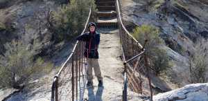 Hiked The Devil's Chair at the Devil's Punchbowl in Pearblossom on 1/21. What a fun litt