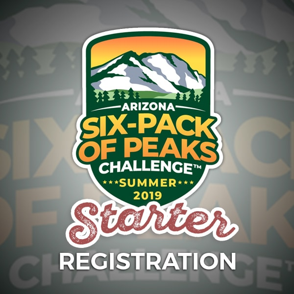2019 Arizona Summer Six-Pack of Peaks Challenge - Starter Registration